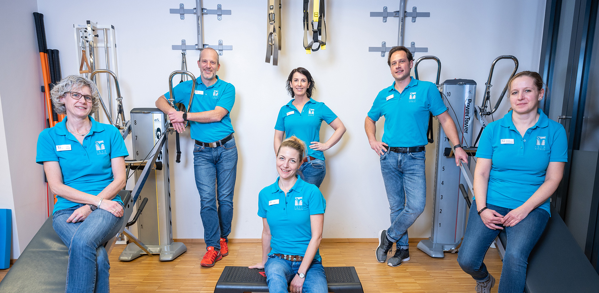Isla Vitalis Physiotherapie Praxis-Team
